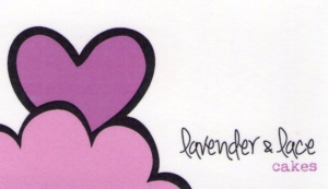 Lavender & Lace Cakes