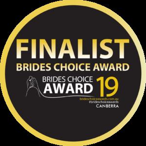 Image of Brides Choice Award - Canberra